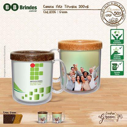 Imagem de Caneca Foto Térmica Green 300ml