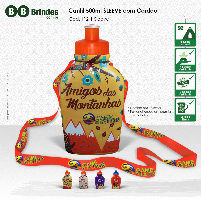 Imagem de Cantil 500ml com Cordão